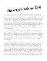 Phân tích giá trị nhân đạo của Tràng trong truyện ngắn Vợ nhặt của Kim Lân