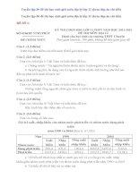 Tuyển tập 30 đề thi học sinh giỏi môn địa lý lớp 11 (kèm đáp án chi tiết)