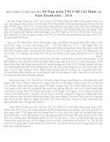 Đề cương 80 năm Đoàn TNCS Hồ Chí Minh
