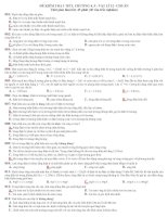 Đề kiểm tra 1 tiết chương 4,5-Vật lí 12CB