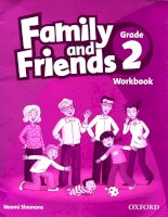 Family and friends grade 2 workbook