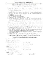 hướng dẫn ôn thi THPT môn toán