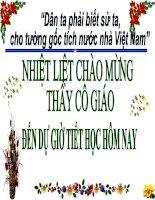 trưng vương và cuộc kháng chiến chống quân xâm lược Hán