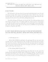 GÓP  PHẦN  SỬ  DỤNG  CÓ  HIỆU  QUẢ  ĐỒ  DÙNG  DẠY  HỌC KHI  DẠY  READING TRONG  MÔN  TIẾNG  ANH