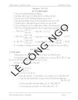Các dạng bài tập Ôn tập Hình học nâng cao lớp 10 cả 3 chương