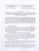 Hướng dẫn sơ kết và tiếp tục thưc hiện kế hoạch liên ngành số 107/KHLN/CAT-SGDĐT