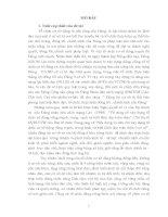 Nâng cao năng lực lãnh đạo và sức chiến đấu của tổ chức cơ sở đảng nông thôn huyệnthà pangthoong,tỉnh sa vẳn na khệt (nước CHDCND lào) trong giai đoạn hiện nay