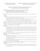 câu hỏi thi tài năng thanh lịch (có đáp án )