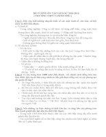 ĐỀ CƯƠNG ôn tập LỊCH sử lớp 10 Học kỳ 2 ( có kèm đáp án )