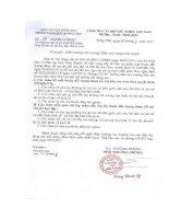 Số: 39/PGDĐT-GDMN ngày 02/3/2011 v/v Báo cáo số liệu trẻ thuộc đối tượng được hỗ trợ ..., tiền ăn trưa.