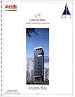 bản vẽ biện pháp thi công Dự án cao ốc văn phòng địa điểm 276 Điện Biên Phủ, phường 17, quận Bình Thạnh