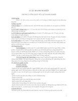 Bài giảng Luật doanh nghiệp