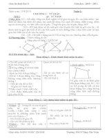 giáo án hình học 8 (3 cột) cả năm 10-11