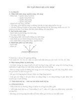 Tài liệu ôn học sinh giỏi Lí 9  Phần Quang học