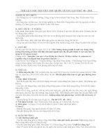 -THỂ LỆ CUỘC THI VIẾT THƯ QUỐC TẾ UPU LẦN THỨ 40 – 2011