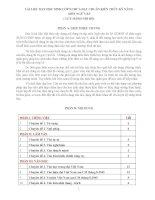TÀI LIỆU DẠY HỌC SINH LỚP 9 CHƯA ĐẠT CHUẨN KIẾN THỨC KỸ NĂNG MÔN NGỮ VĂN