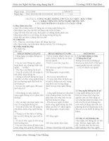 Giáo án nghề tin học ứng dụng 70 tiết