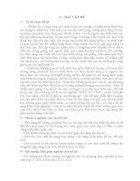 SKKN Bài toán tính thể tích khối đa diện THPT NGUYỄN VĂN VINH THỌ XUẬN
