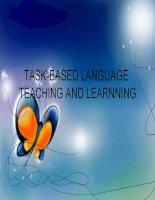 Task based language