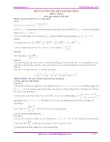 Đề và lời giải đề số 3 HOCMAI.VN