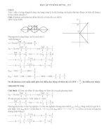 vật lý 12 bài tập về sống dừng có lời giải (2)