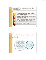 Giáo trình pháp luật trong xây dựng - Chương 3 Dự án đầu tư  xây dựng công trình, ThS. Đỗ Hoàng Hải