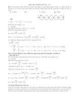 vật lý 12 bài tập về sóng dừng có lời giải (1)