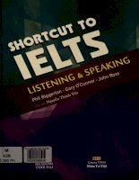 Shortcut to IELTS listening and speaking