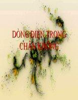 Bài 16-Dong dien trong chan khong