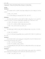 Bài tập về quan hệ vuông góc