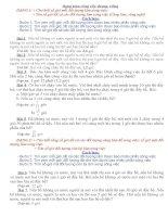 Dạng toán công việc chung riêng lớp 5 (Trình bày theo dạng và có hướng dẫn cách làm từng dạng)