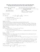 5 đề thi tuyển sinh lớp 10 môn Toán và đáp án