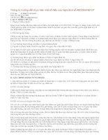 Thông tư hướng dẫn thực hiện một số điều của Nghị định số 49
