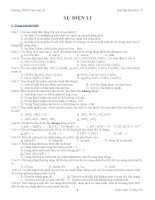 Các bài tập TN Hóa 11 theo 3 mức độ - hay