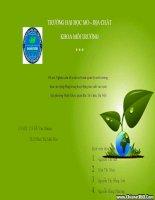 nghiên cứu đề xuất mô hình quản lý môi trường dựa vào cộng đồng trong hoạt động sản xuất rau tại phuiowngf minh khai, quận bắc từ liêm hà nội