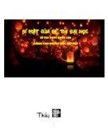 BÍ MẬT ĐỀ THI ĐẠI HỌC, PHẦN BỔ TRỢ 2, CÁCH XỬ LÍ NHỮNG BÀI TOÁN KHÓ.PDF