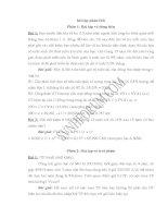Bài tập và bài giải phân tích chứng khoán của UBCKNN