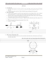 """TIỂU LUẬN cơ kết cấu NÂNG CAO áp dụng """"limit analysis"""" cho bài tóan kết cấu ứng suất phẳng, phương pháp đường tốc độ bất liên tục"""