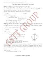 tuyển tập 200 bài vật lý hay và khó tập 1  GSTT group