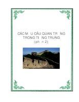 Các cấu trúc câu quan trọng trong Tiếng Trung - Phần 2