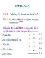 Bài 23: Tác dụng nhiẹt và tác dụng phát sáng của dòng điện