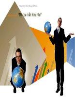 Thuyết trình môn tài chính quốc tế Nghiên cứu về Bộ ba bất khả thi