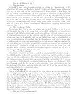 Giới thiệu các đề kiểm tra môn ngữ văn học kỳ và đáp án tham khảo