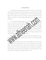 báo cáo thực tập tại Khách Sạn Ngọc Khánh