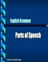 ENGLISH GRAMMAR - PRESENTATION 1