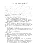 Đề & đáp án HSG môn Sinh học 9.doc