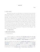 tư tưởng yêu nước và tinh thần nhân đạo của Nguyễn TRãi qua tác phẩm Bình Ngô Đại cáo