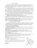 Khai thác bài toan hình học ở SGK