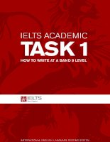 ielts academic task 1   how to write at a band 9 level
