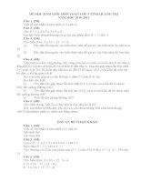Đề thi HSG môn toán lớp 5 tỉnh Quảng Trị năm 2011 (Có đáp án để tham khảo)